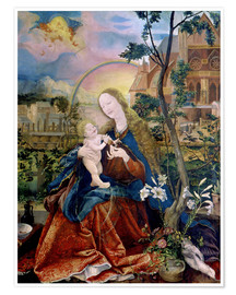 Matthias Grünewald - The Stuppacher Madonna. Around 1520