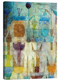 Paul Klee - Plants early in the morning