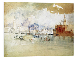 Cuadro de PVC  Venice, seen from the lagoon - Joseph Mallord William Turner
