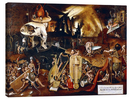 Lienzo  The Hell - Hieronymus Bosch