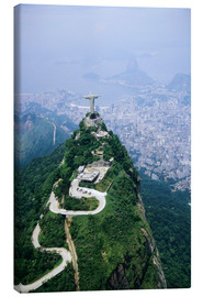 Lienzo  Corcovado Mountain with Christ the Redeemer Statue - Sue Cunningham
