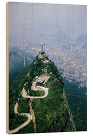 Madera  Corcovado Mountain with Christ the Redeemer Statue - Sue Cunningham