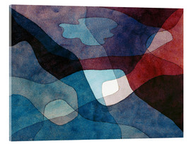 Paul Klee - Mountain and Air Synthetic