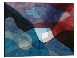 Aluminio-Dibond  Mountain and Air Synthetic - Paul Klee