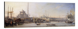 Aluminio-Dibond  The Golden Horn, Suleymaniye Mosque and Fatih Mosque - Antoine Léon Morel-Fatio