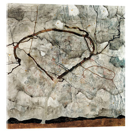 Metacrilato  Autumn tree in the wind - Egon Schiele