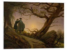 Forex  Two men contemplating the moon - Caspar David Friedrich