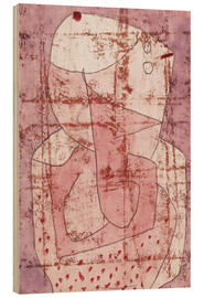 Madera  Swiss clown - Paul Klee