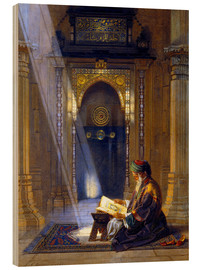 Carl Friedrich Heinrich Werner - In the Mosque