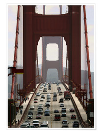 Póster  Golden Gate Bridge - Marcel Schauer