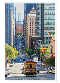 Póster  San Francisco Downtown - Marcel Schauer