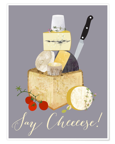 Póster Say cheeese!