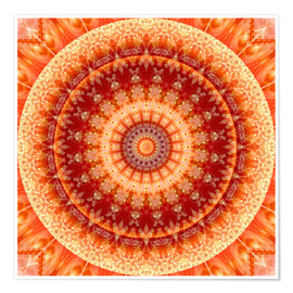 Póster  Mandala Joy of Living - Christine Bässler