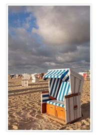 Póster  Beach Chair at sunrise - Markus Lange
