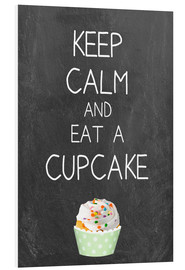 Forex  Keep calm and eat a cupcake on chalkboard - GreenNest