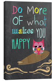 Lienzo  Do more of what makes you happy - GreenNest