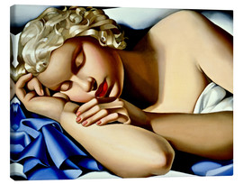 Lienzo  The Sleeping Girl (Kizette) - Tamara de Lempicka