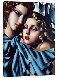 Lienzo  The girls - Tamara de Lempicka