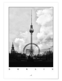 Póster Berlin - Television Tower