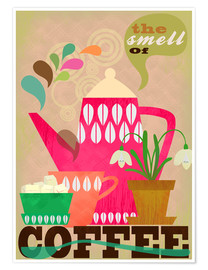 Póster The smell of coffee (inglés)