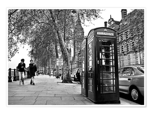 Póster Streets of London