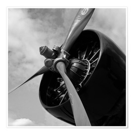 Póster  Junkers JU52 - HADYPHOTO