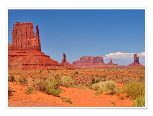 Póster Monument Valley I