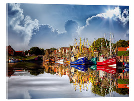 Cuadro de metacrilato  Greetsiel port - Peter Roder