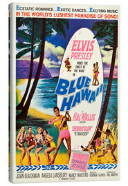 Lienzo  Blue Hawaii