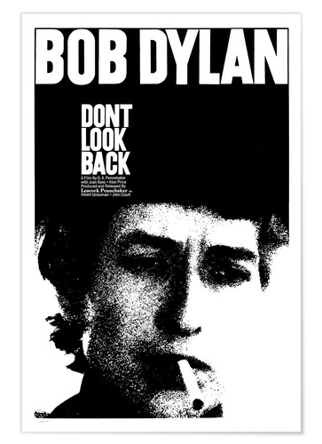Póster DON'T LOOK BACK