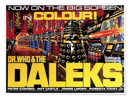 Póster  DR. WHO AND THE DALEKS