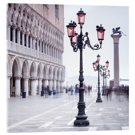 Metacrilato  St. Mark's Square in Venice in Winter - Jan Christopher Becke