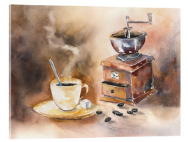 Cuadro de metacrilato  The smell of coffee - Jitka Krause