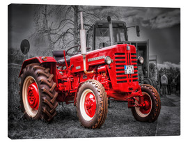 Lienzo  McCormick tractor Oldtimer - Peter Roder