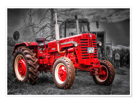 Póster Tractor Mc Cormick