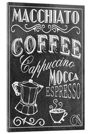 Cuadro de metacrilato  Coffee Print - GreenNest
