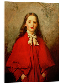 Cuadro de metacrilato  Bright Eyes - Sir John Everett Millais