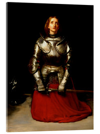 Cuadro de metacrilato  Joan of Arc - Sir John Everett Millais