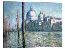 Lienzo  El Grand Canal - Claude Monet
