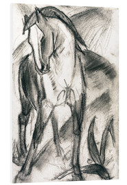 Forex  Young Horse in Mountain Landscape - Franz Marc