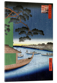 Cuadro de metacrilato  Pine of Success - Utagawa Hiroshige