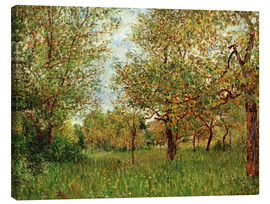 Lienzo  Small Meadow in By - Alfred Sisley