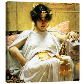 Lienzo  Cleopatra - John William Waterhouse