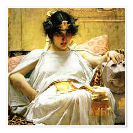 Póster  Cleopatra - John William Waterhouse