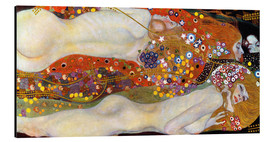 Gustav Klimt - Water Serpents II