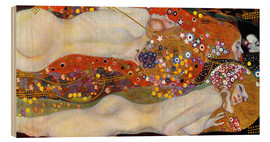 Madera  Water Serpents II - Gustav Klimt