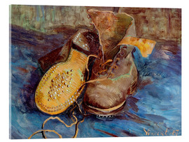 Cuadro de metacrilato  The Shoes - Vincent van Gogh
