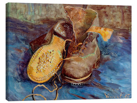 Lienzo  The Shoes - Vincent van Gogh