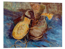 Cuadro de PVC  The Shoes - Vincent van Gogh