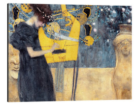Aluminio-Dibond  The Music - Gustav Klimt